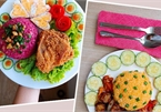 Những bữa trưa bày ra đĩa đẹp như ăn hàng của 9X
