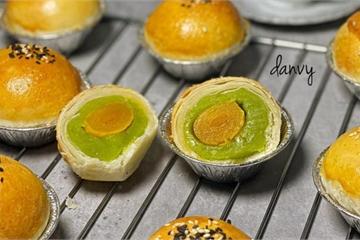 Cách làm bánh Trung thu ngàn lớp bằng nồi chiên không dầu