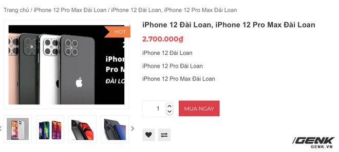 Cảnh giác với iPhone 12 Pro Max hàng nhái chạy Android, giá 2.5 triệu đồng tại Việt Nam - Ảnh 1.