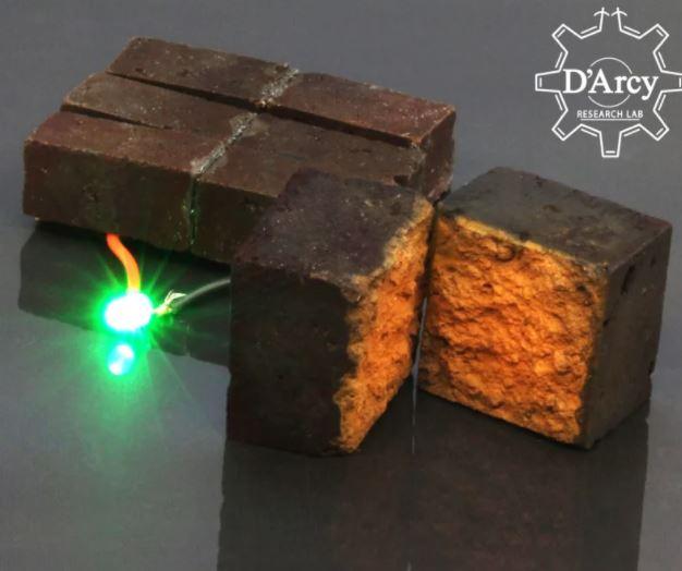 Các nhà khoa học đã có thể biến gạch thành pin - Ảnh 1.