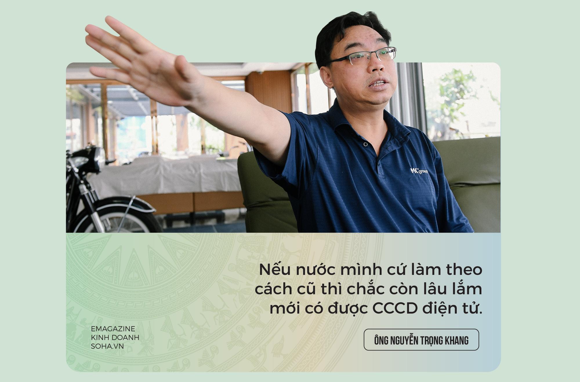 18 năm vật vã của Chủ tịch MK Group và chiếc thẻ CCCD Việt Nam giá rẻ bằng 1/2 Nhật Bản - Ảnh 3.