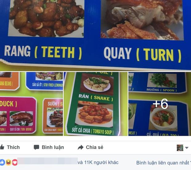 """Cười ra nước mắt trước những thảm hoạ đặt tên đồ ăn bằng tiếng Anh, đặt niềm tin tuyệt đối vào """"chị Google Dịch"""" thì có ngày… toang! - Ảnh 16."""