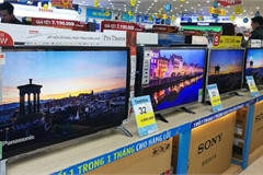 Tivi càng to giá càng giảm mạnh, sale đậm hơn 80% chống ế