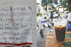 Tá hỏa quên 500.000 đồng tiền thừa, shipper ngỡ ngàng mảnh giấy chủ quán để lại
