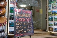 Đói khách, khách sạn 3 sao ở Hà Nội giảm giá phòng còn 299.000 đồng