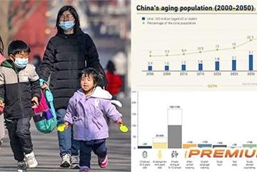 Thách thức dân số, 'bom hẹn giờ' cho kinh tế Trung Quốc
