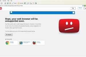 YouTube đã dùng 'mưu hèn, kế bẩn' giết chết trình duyệt Internet Explorer như thế nào?