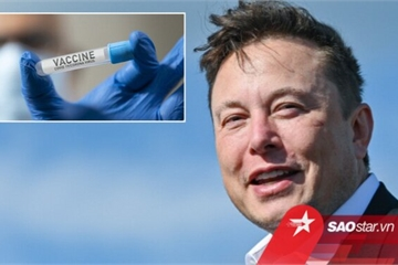 Phát biểu gây bất ngờ của Elon Musk về vắc-xin COVID-19
