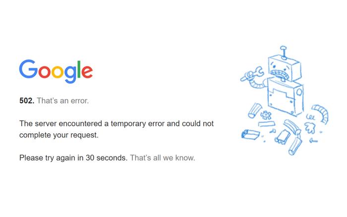 Google gặp sự cố, người dùng Gmail không thể gửi hoặc nhận email Ảnh 1