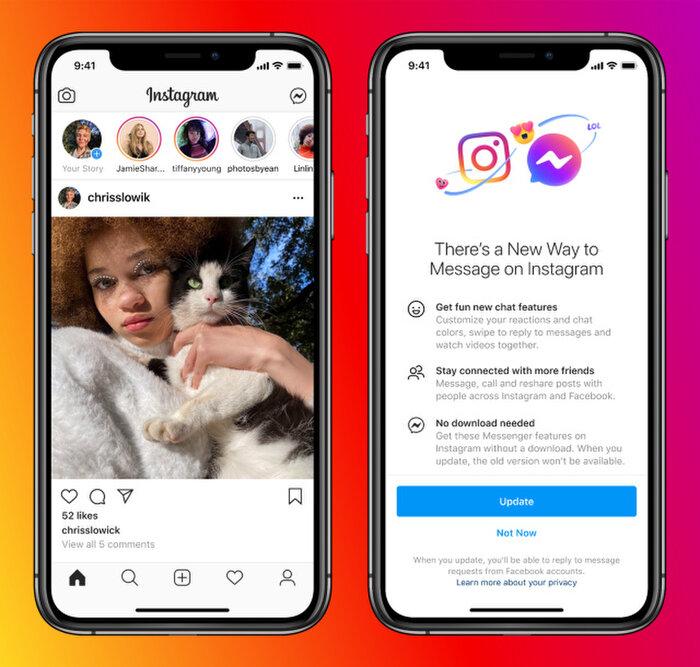 Người dùng Instagram và Facebook sắp nhắn tin được cho nhau Ảnh 1