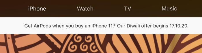 Apple chơi lớn ở Ấn Độ: Tặng AirPods miễn phí cho người mua iPhone 11 Ảnh 1