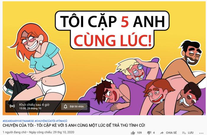 Xuất hiện kênh YouTube hoạt hình với nhiều nội dung không phù hợp trẻ em Ảnh 5