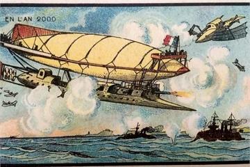 """Họa sĩ """"tiên tri"""" từ thế kỷ 19 vẽ gì về thế giới 100 năm sau?"""