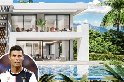 Chiêm ngưỡng căn biệt thự tuyệt đẹp Ronaldo vừa mua ở Tây Ban Nha