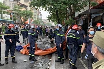 Cháy cửa hàng đồ sơ sinh, tìm kiếm nạn nhân thương tâm qua lời kể của lính cứu hỏa