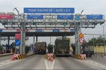 Từ hôm nay (20/7), tạm dừng thu phí dự án BOT các tỉnh phía Nam