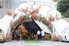 Đám cưới xa hoa ở Quảng Ninh: 2 Rolls Royce biển tứ quý hộ tống, dựng rạp 2,5 tỷ đồng