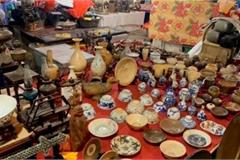 Lạc vào thế giới đồ cổ trong phiên chợ 'Âm phủ' mỗi năm chỉ họp 1 lần