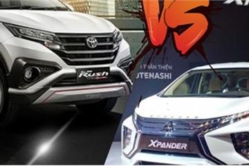 So sánh Mitsubishi Xpander và Toyota Rush: Đẹp ngoài hay thực dụng