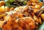 Thịt gà vàng ươm với nồi chiên không dầu, dễ làm mà cực kỳ đã miệng