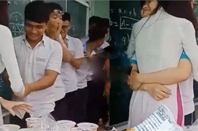 Cô giáo xinh đẹp, tâm lý đốn tim học sinh vì hành động dễ thương