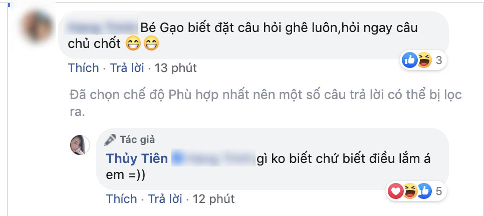"""Con gái Thủy Tiên hỏi một câu khiến Công Vinh """"cứng họng"""""""