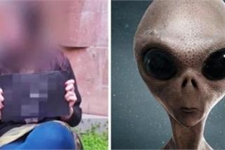 Người phụ nữ tuyên bố mang thai với người ngoài hành tinh ở năm 3500