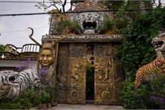 Ngôi nhà kỳ quái ở Hưng Yên càng biến hình càng lạ mắt