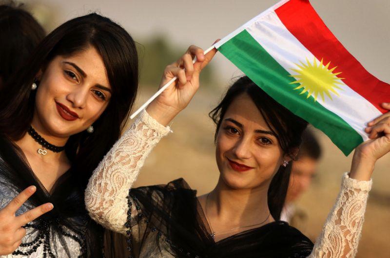 ve dep cua nhung co gai nguoi kurd khien nguoi xem nao long hinh anh 4