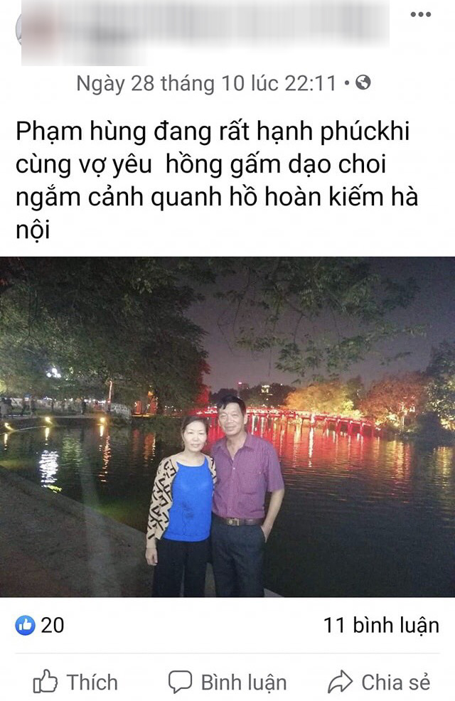 ghen ty voi cach the hien tinh cam voi vo cua ong bo u70 hai duong hinh anh 4