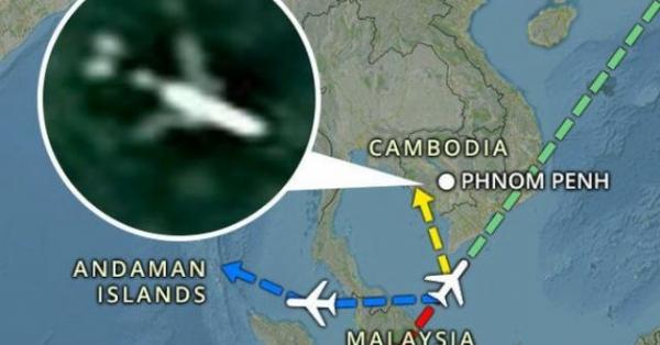 'Đống đổ nát' MH370 bất ngờ xuất hiện trên ảnh vệ tinh