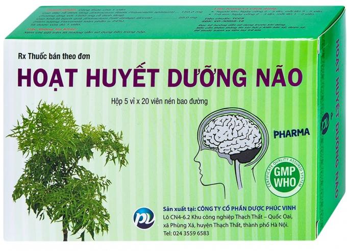 Không đặt chất lượng, thuốc hoạt huyết dưỡng não của Phúc Vinh bị thu hồi - Ảnh 3.