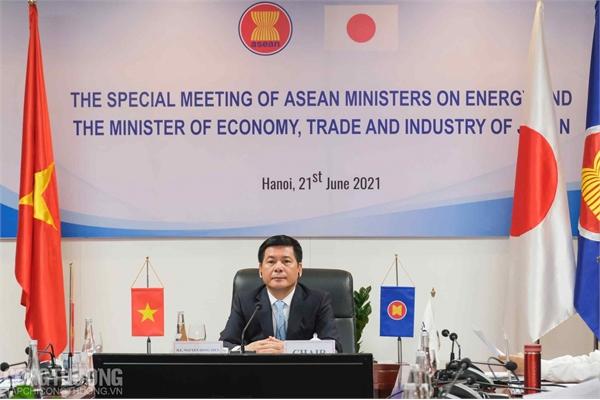 Các Bộ trưởng Năng lượng ASEAN-Nhật Bản ra tuyến bố chung