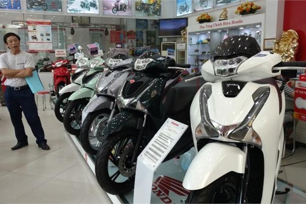 Tiêu thụ xe máy ở Việt Nam đứng thứ 4 thế giới