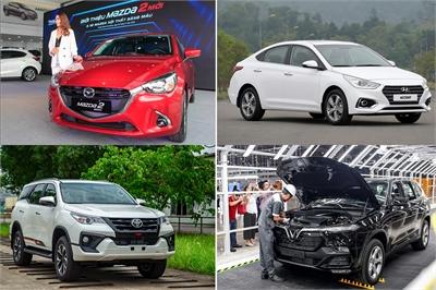Thị trường ô tô Việt đang hình thành cuộc đua của 4 ông lớn