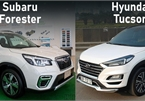 Crossover dưới 1 tỷ: Mua Hyundai Tucson hay Subaru Forester?