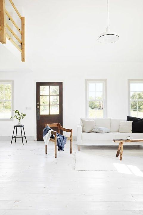 10 ý tưởng thiết kế phòng khách tông trắng cực đẹp ai cũng thích mê