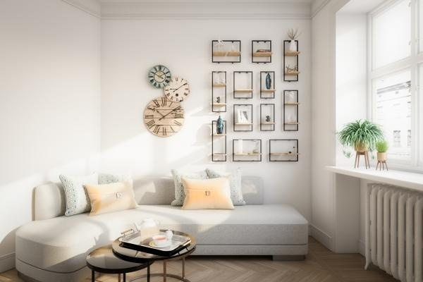 6 cách bài trí phòng khách tông xám đẹp tinh tế và bắt mắt, xua tan vẻ tẻ nhạt