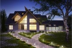 Biến hóa sân vườn đẹp lung linh như phim Hàn với những mẫu trang trí đèn ngoại thất đẹp mãn nhãn