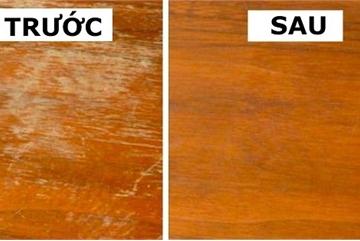 Cứ áp dụng mẹo này, đồ gỗ nội thất nhà bạn cũ 10 năm cũng nhìn mới nguyên như ngày đầu