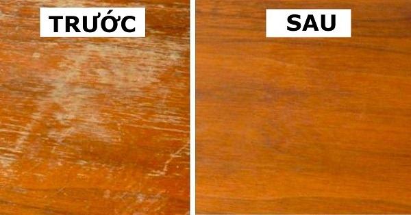 Cứ áp dụng mẹo này, đồ gỗ nội thất nhà bạn dùng 10 năm cũng nhìn mới nguyên như ngày đầu