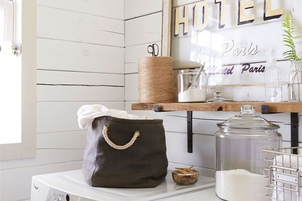 10 mẫu trang trí giúp không gian giặt là trong nhà không còn đơn điệu