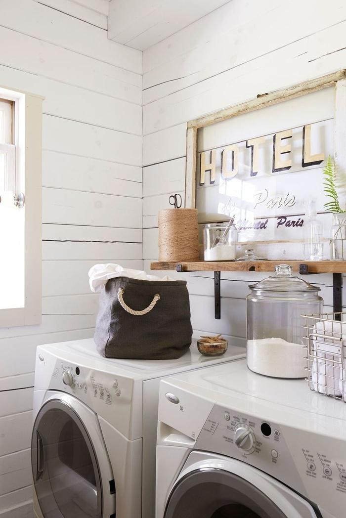 """10 tips trang trí không gian giặt là nhỏ xinh mà cực """"chất"""""""