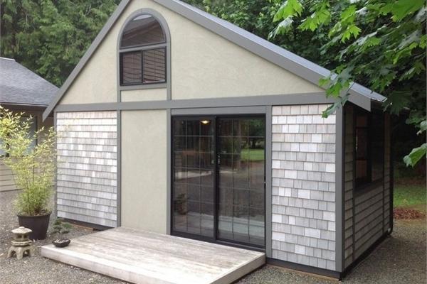 Ngôi nhà nhỏ vỏn vẹn 25m2 nhưng không gian bên trong tiện nghi đến bất ngờ
