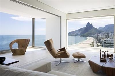 Căn hộ nhìn 360 độ ra bãi biển khiến ai cũng muốn ở một lần trong đời