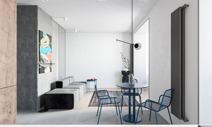 Căn hộ chưa đến 55m2 mà đẹp như tác phẩm nghệ thuật nhờ bố trí nội thất tối giản