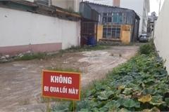 Ngay giữa Hà Nội, trường xây xong, học sinh không được học... vì chưa có đường vào