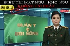 Kênh giả mạo truyền hình Quốc phòng Việt Nam để quảng cáo thực phẩm chức năng