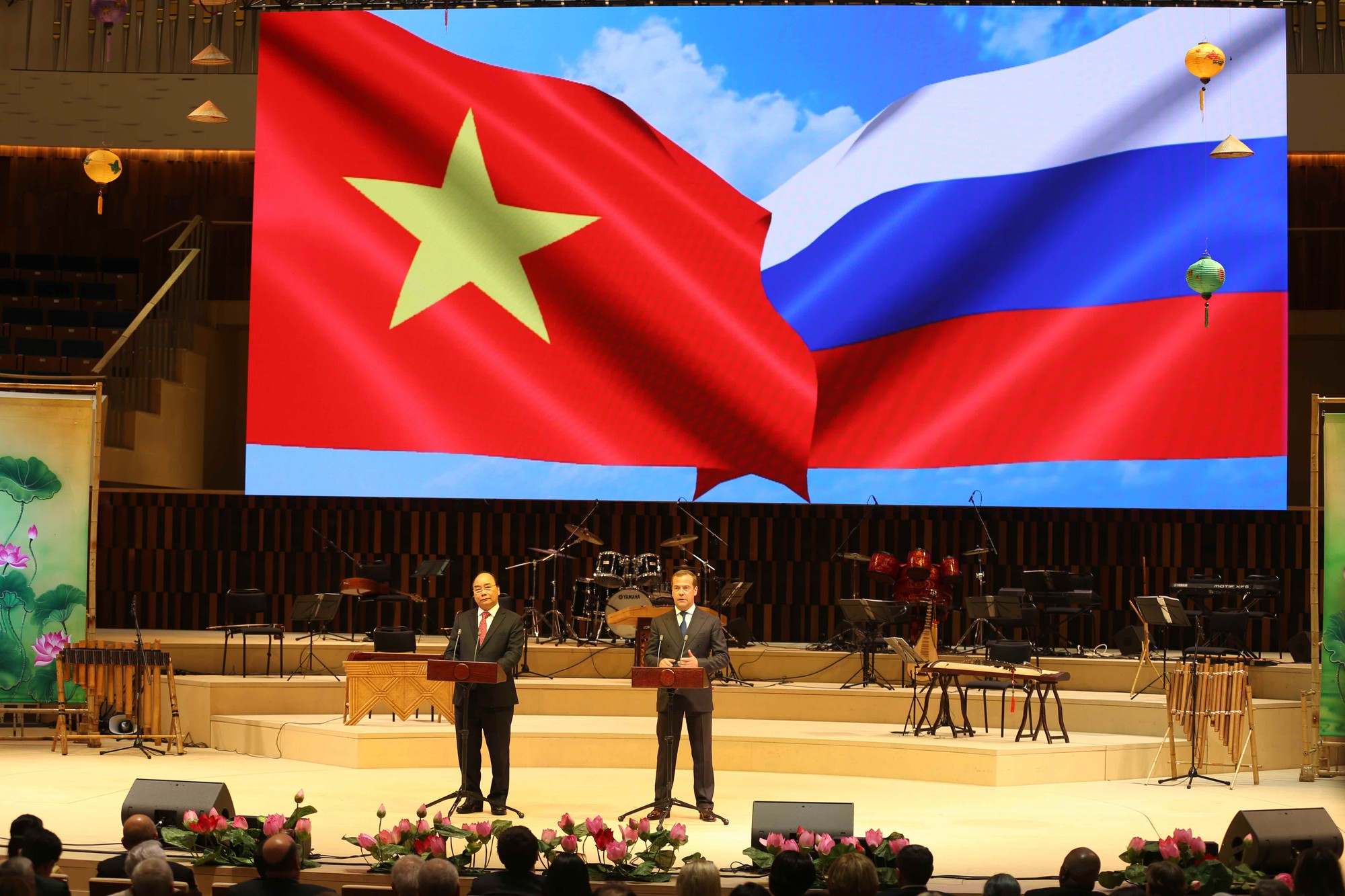 Chùm ảnh: Khai mạc các hoạt động Năm Việt Nam tại Nga và Năm Nga tại Việt Nam - Ảnh 3.
