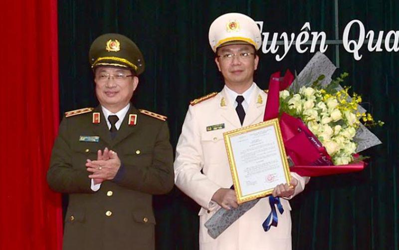 Đại tá Phạm Kim Đĩnh được bổ nhiệm làm Giám đốc Công an Tuyên Quang - Ảnh 1.